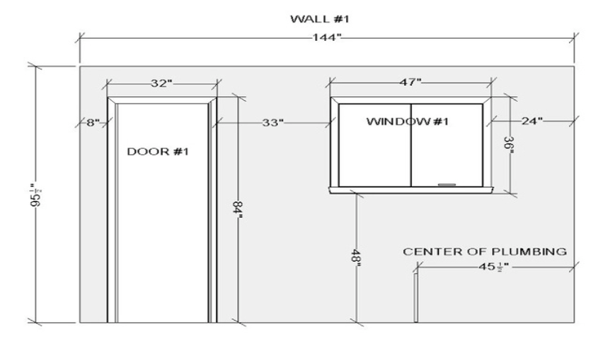 Window height from floor for Window height